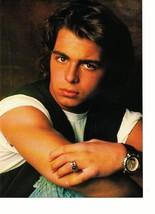 Joey Lawrence teen magazine pinup clipping double sided nice ring Teen Beat 90's