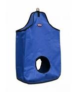 Large Blue Nylon Double Open sided Hay Bag Horse Cow Llama Goat Donkey Mule - $12.77
