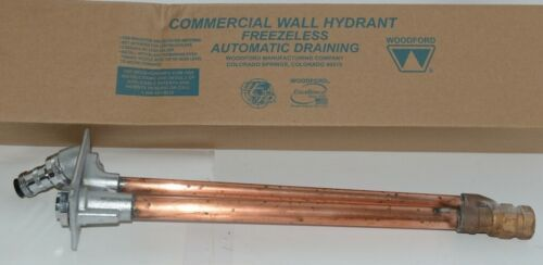 Woodford Model 67 Wall Hydrant P Inlet For Irrigation  Outdoor Watering