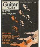 Guitar Player Magazine ORIGINAL Vintage June 1970 Eric Clapton Roy Clark... - $39.59
