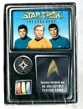 STAR TREK TRADING CARD GAME Mint in Package 65 Cards Rulebook 1996 - $7.95