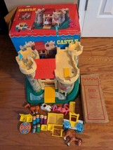 1974 Fisher Price Play Family Castle #993 Complete in Original Box  - $224.39