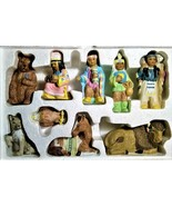 Native American Additions HOL 1993 NIB Christmas Around The World 9PC Ho... - $29.00