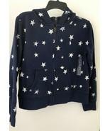 Ralph Lauren girls blue white stars anchor cotton hoodie NWT$59.00 sz XL... - $22.16
