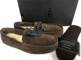 Ugg Australia Men's Chester Chocolate Brown Driving Loafers Moccasins Slippers - $79.99