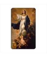 Virgin Mary Assumption To Heaven Angel Art Vinyl Fridge Magnet New - $6.64