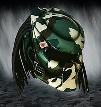 New Predator Helmet Green Camo (Dot & Ece Certified) - $250.00