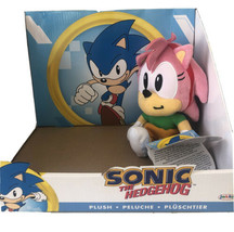 """2020 Sonic the Hedgehog 7"""" AMY Plush Jakks New with TAGS IN HAND Free Ship - $43.55"""