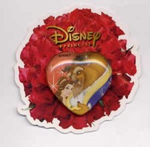 Disney Beauty & Beast in Heart Japan Mickey & Pals Royal Kiss Belle pin - $14.69