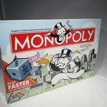 Monopoly 2007 Play Faster with Speed Die Board Game Complete New Factory... - $21.95