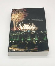 2003 Colorado Rockies Media/Information Guide - $7.91