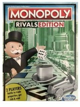 MONOPOLY RIVALS EDITION 2 PLAYER GAME HASBRO GAMING NEW IN SEALED BOX - $19.50