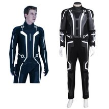 Tron Legacy Sam Flynn Cosplay Costume Adult Men Halloween Carnival Outfit - $178.00