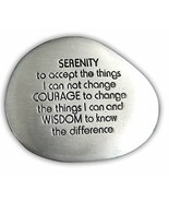 Serenity Prayer Soothing Stone by Cathedral Art - Engraved Rock with Ins... - $9.90
