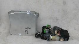 01-03 Honda Civic 1.7 A/T ECU PCM Engine Computer & Immobilizer 37820-PLR-A53