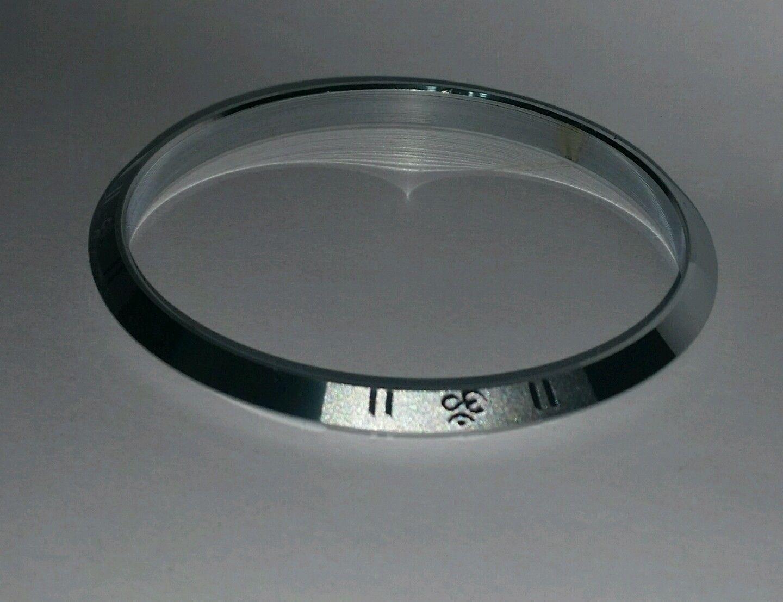 Bañado en plata Grabado A Láser Hindú Leyenda OM Kara Impresionante 1