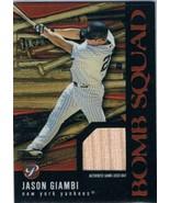 2003 Topps Pristine Bomb Squad Relics #PBSJG Jason Giambi MEM  - $14.80