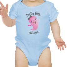 Pretty Little Ghoul Baby Sky Blue Bodysuit - $13.99