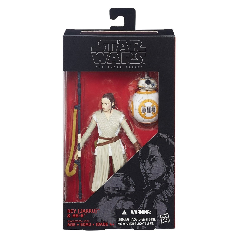 "Hasbro Star Wars ""The Black Series"" 2-Pack Set – Kylo Figurine with Reyand BB-8"
