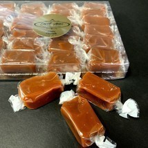 Caramel Candy Handcrafted Classic, Sea Salt And Assorted 24 Piece Gift B... - $26.57