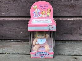 VTG 1987 Hasbro LOVE A BYE Baby Doll NRFB Blonde 4516-5120 - $24.70