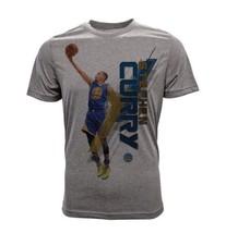 Youth Golden State Warriors Stephen Curry Fadeaway Grey T-Shirt / Medium - $42.08