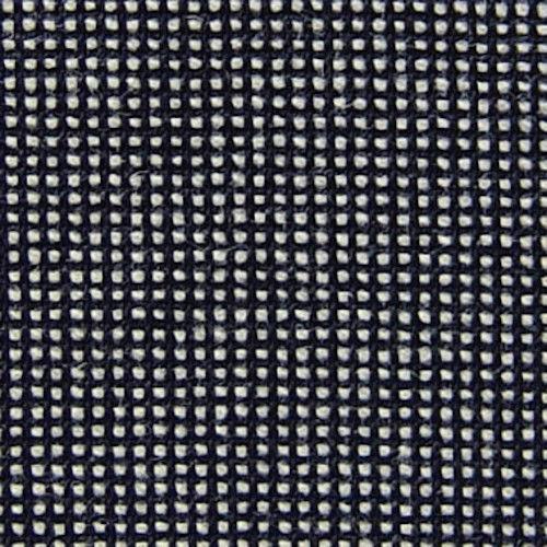 Luna Tapisserie Tissu Ensemble Mcm Noir/Blanc Eco-Wool Dominos 12.8m NCE-4052 Av