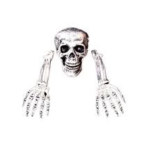 Halloween Horror Buried Alive Skeleton Skull Garden Yard Lawn Scary Deco... - $24.74