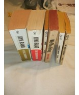 Ayn Rand Books ~ Lot Of 6 :Atlas Shrugged / The Fountainhead / Anthem - $21.60