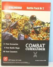 Combat Commander Stalingrad Battle Pack No.2 GMT Games 2008 Unpunched - $49.50