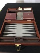 Rare 1983 Mini Magnetic Backgammon Travel Game Set Pressman Vintage Board Game - £14.03 GBP