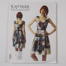 Vogue American Designer V1353 Pattern Kay Unger Misses Dress - $14.84