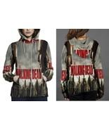 The Walking Dead Season 8 HOODIE ZIPPER FULLPRINT WOMEN - $51.99+