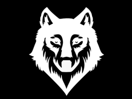 Wolf Silhouette Vinyl Decal Car Wall Truck Sticker Choose Size Color - $2.78+