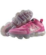 Nike Vapormax Womens Size 8 USA 2019 Metallic Silver Fuchsia Pink Runnin... - $179.95