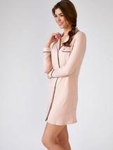 Pretty You London Womens Bamboo Nightshirt Pink - Medium - $70.00