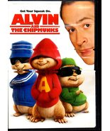 DVD Alvin And The Chipmunks - $10.00
