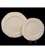 "Noritake Ivory China Chandon 8 3/8"" Salad 7"" Bread Butter Plate White Fl... - $9.95"