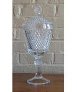 Vintage Indiana Glass #0113 Diamond Point Pattern Chalice Ca 1965-1980,O... - $21.90