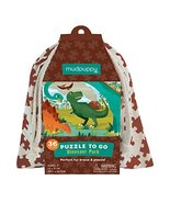 "Mudpuppy Dinosaur Park Puzzle To Go, 36 Pieces, 12""x9"" – Great for Kids ... - $9.99"
