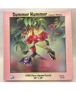 SunsOut puzzle Summer Hummer 1000 piece hummingbirds Spencer Williams - $4.00