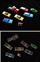 Toy Car Lot Model Railroading Play Set Vintage 18 Wheeler Station Wagons... - $24.99