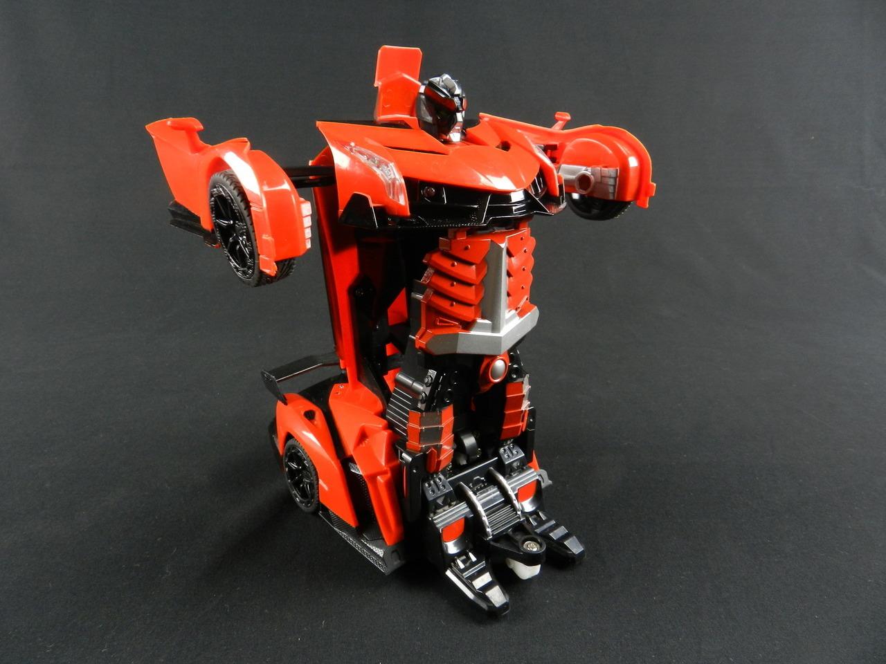 Kingco Transformer RC Remote Control Deformation Robot Car