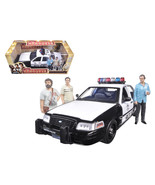 2000 Ford Crown Victoria Police Interceptor Car with 3 Figures The Hango... - $112.35