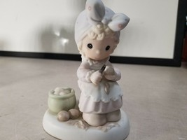 PRECIOUS MOMENTS Figure 1995 MEMBERS ONLY PM952 ALWAYS TAKE TIME TO PRAY  - $16.81