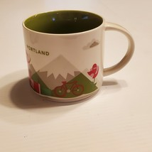 Starbucks Portland Mug You Are Here Collection 2015 Mountain Bicycle.  - $27.00