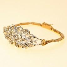 14k Rose Gold Bracelet with Diamonds for Women UK BHS - $956.48