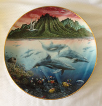 "1991 Danbury Mint Collector Plate Underwater Paradise ""Hawaiian Muses"" - $24.99"