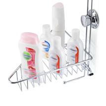 ANHO Bathroom Shower Caddy Basket Suction 2 Layers Wall Mount Organizer ... - $28.15