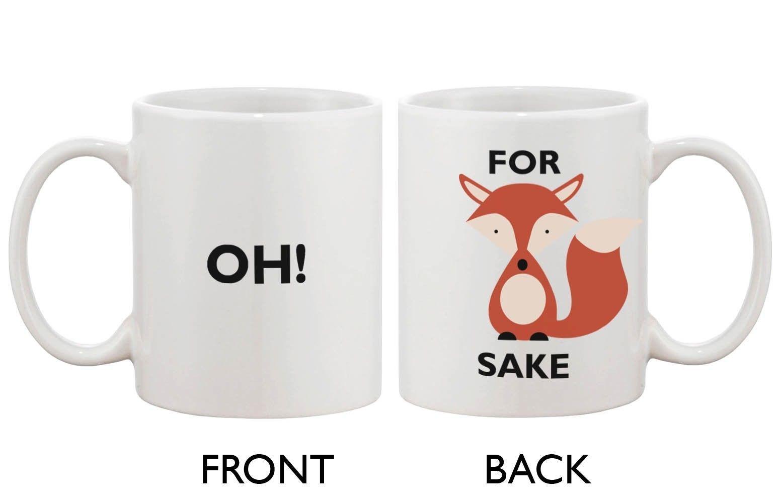 Cute For Fox Sake Mug - For Fox Sake Oh!